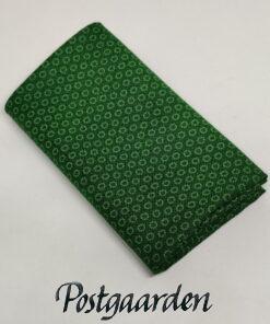 FQ7638 Grøn med ringe patchworkstof